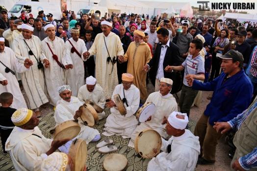 Morocco. Rose Festival at Kelaat M'Gouna.