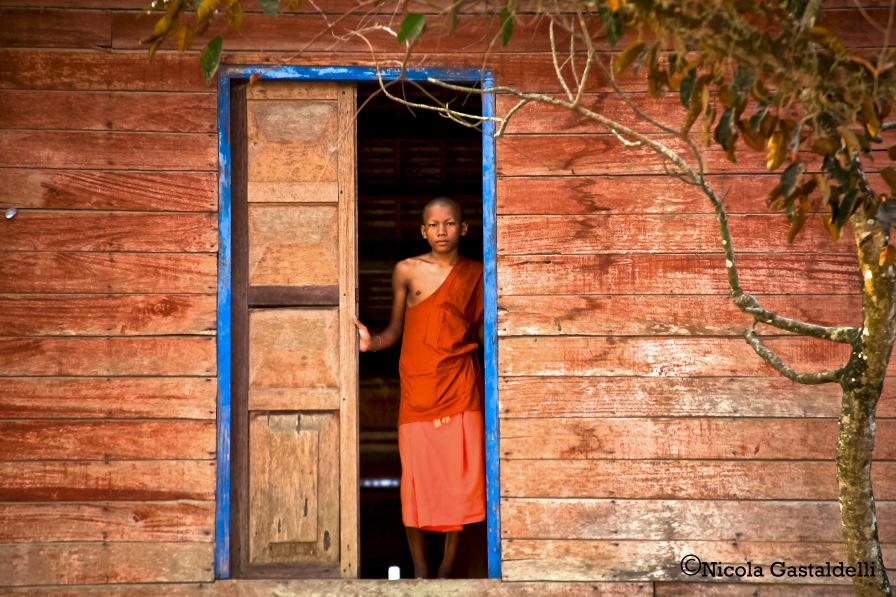 A young Monk based in Cambodia.
