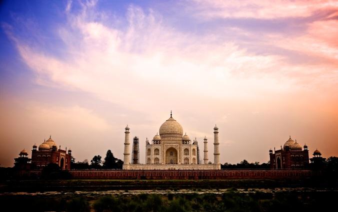 India. Taj Mahal.