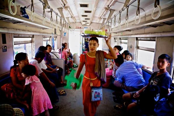 Myanmar. Circular Train.