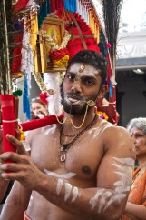 Thaipusam is a religious celebration held by devotees of Tamil community.